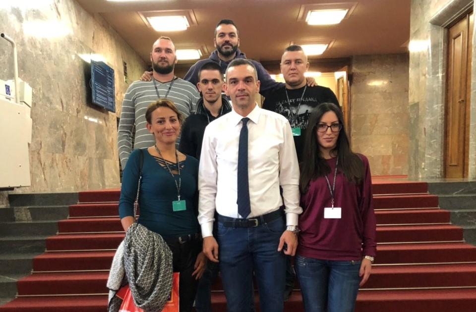 Српски радикали посетили Змага Јелинчича у Љубљани