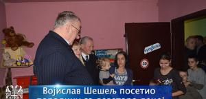 Војислав Шешељ посетио породицу са деветоро деце!