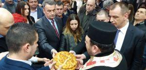 Српски радикали прославили крсну славу Света Три Јерарха у Новом Саду