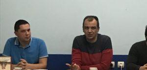 Predsednik Izvršnog odbora SRS Đurađ Jakšić obišao Rasinski okružni  odbor