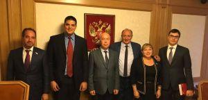 Српски радикали посетили руску Думу