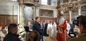 Срећна ти слава Нови Саде! Одрен светог Симеомона Мироточивог додељен Ђурађу Јакшићу!
