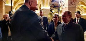 Susret dr Vojislava Šešelja i Vladimira Putina