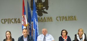 Konferencija za novinare prof. dr Vojislava Šešelja,  8. oktobar 2020. godine