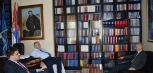 Ruski ambasador Aleksandar Bocan-Harčenko posetio Srpsku radikalnu stranku!