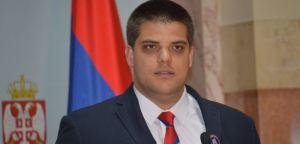 Konferencija Aleksandra Šešelja  u Narodnoj skupštini Republike Srbije, 18. maj 2020. godine