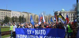 Protestni skup Srpske radikalne stranke povodom dve decenije od NATO bombardovanja!