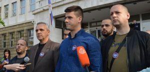 Konferencija za novinare, 9. april 2019. godine, Uroš Kršić: U Srebrenici bilo žrtava na svim zaraćenim stranama, ali nije bilo genocida!