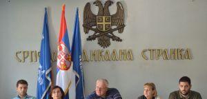 Неприхватљиво пристајање Србије да уведе мораторијум на кампању повлачења признања Косова     Војислав Шешељ, конференција за новинаре, 7. септембар 2020. године