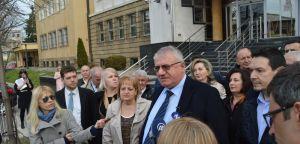 Изјава испред суда, Сребреница, Кравице, 29. март 2018. године