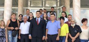Српска радикална странка предала листу за предстојеће изборе у Општини Медвеђа