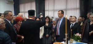 Srpski radikali proslavili krsnu slavu Sveta Tri Jerarha u Novom Sadu