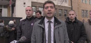 Изјава Миљана Дамјановића испред Специјалног суда у Београду,  12. децембар 2019. године