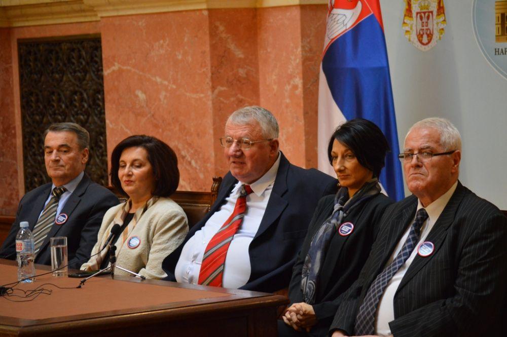 Конференција за новинаре Српске радикалне странке,  6. фебруар 2020. године
