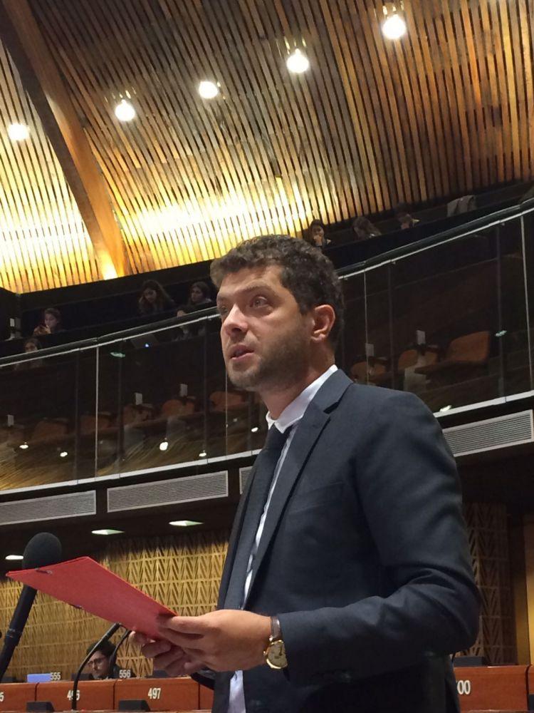 Potpredsednik SRS Miljan Damjanović