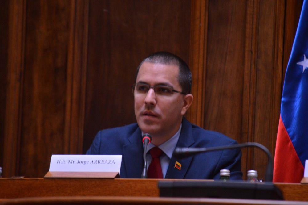 Српска радикална странка са шефом дипломатије Венецуеле